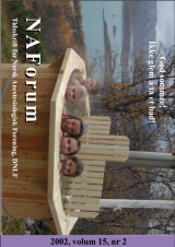 NAForum 15(2) 2002