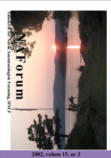NAForum 15(3) 2002